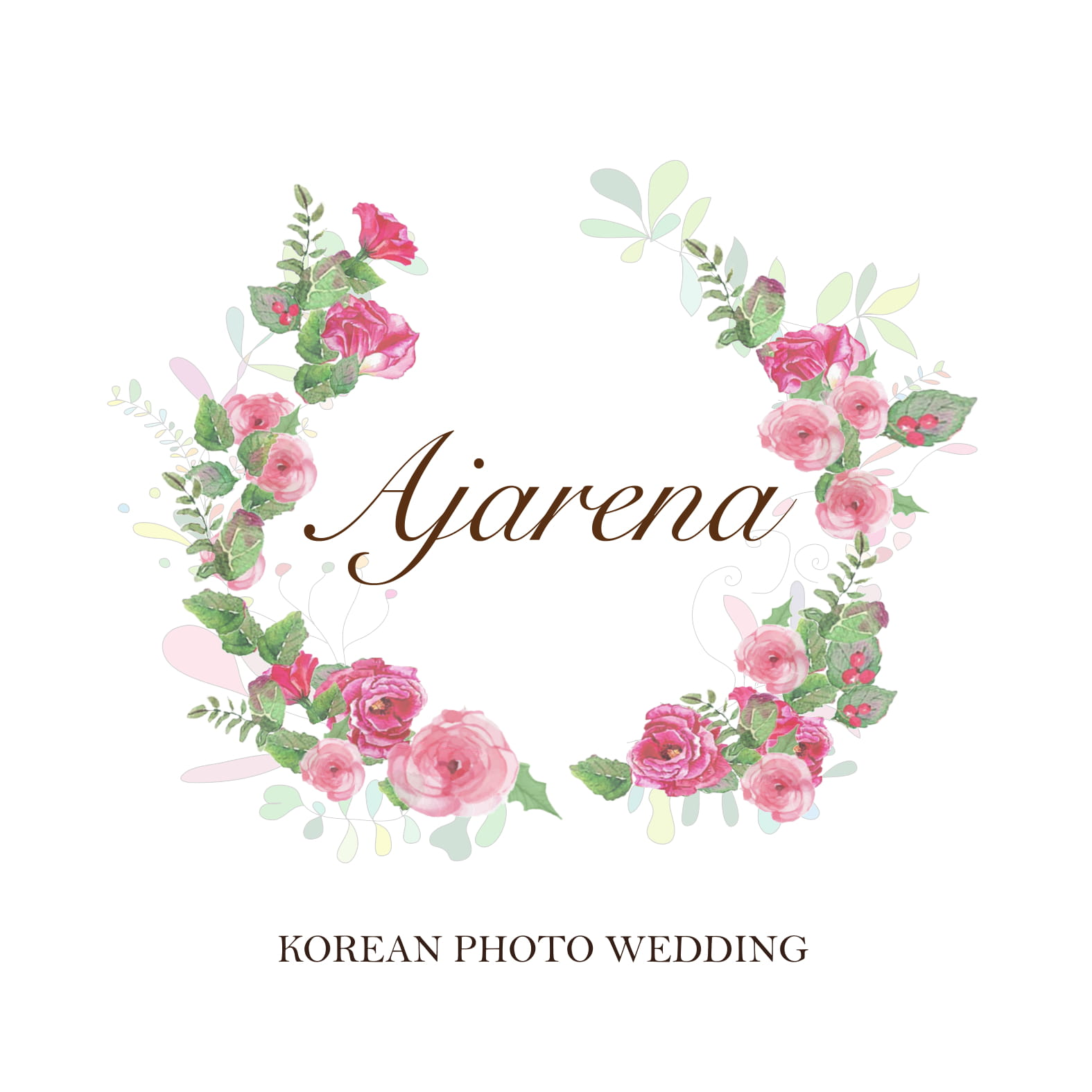 logo loading of ajarena wedding