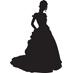 女性ウエディングドレス