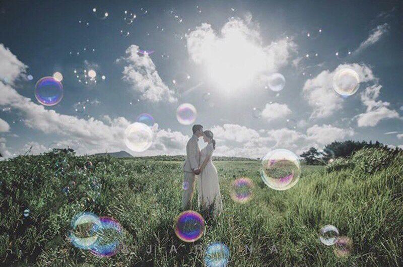 結婚記念日の写真を韓国で