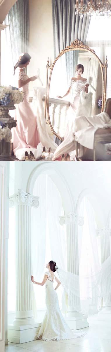 チマチョゴリでウェディングフォト・結婚写真
