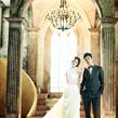 ウエディングフォトは韓国ソウルで撮影のアジェリーナ