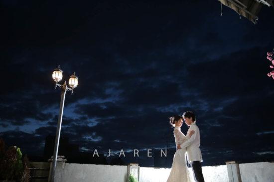 夜間ライトアップ撮影